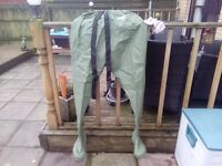 Size 10 shakespeare waist waders. New