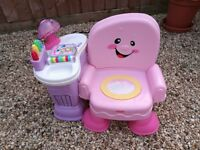Fisher price musical chair/desk