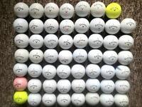 55 Callaway golf balls in excellent condition