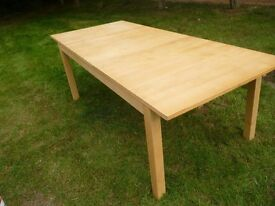Ikea Dining table - 6 to 8 seater - extended section -bargain!