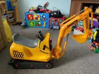 Ride-On Excavator