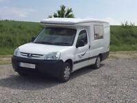 Auto Sleepers Mezan 2 berth campervan with 2 belted seats and elevating roof
