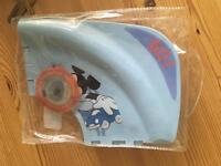 Foldable Mickey Mouse toilet seat