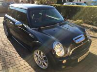 Mini Cooper S Black 2006 79000 miles, Lovely tan and black leather, Lady owner