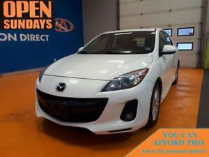 2012 Mazda MAZDA3 GS-SKY LEATHER! SUNROOF! FINANCE NOW!