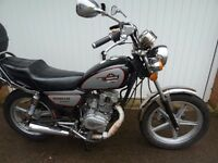 Motorcycle 125cc. Excellent commuter bike/learner legal