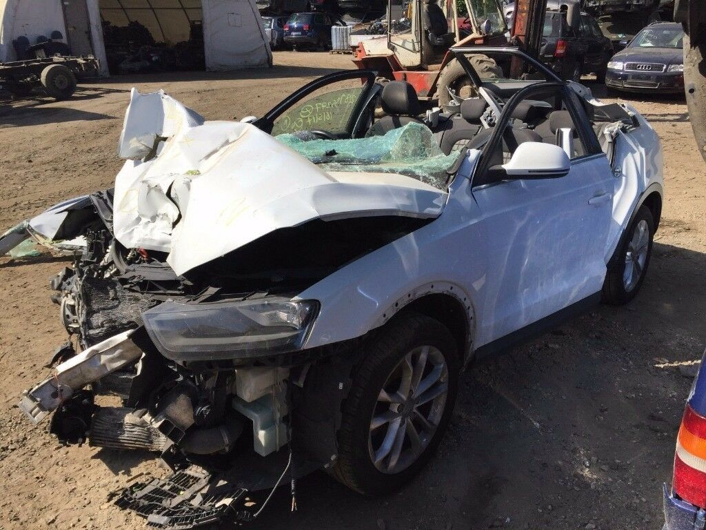 AUDI Q3 2.0 TDI AUTO SUV 5 DOOR WHITE 2011-2014 INDICATOR BREAKING