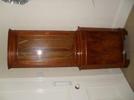 """Corner Cabinet, wood veneer, 60"""" high"""