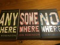 Any where book series (books 1-3)