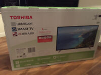 "Brand New in Box Toshiba 49L3658DB 49"" Smart LED TV Full HD With Freeview Play Tuner"