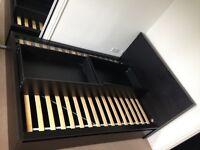 Ikea Malm Standard Double Bed