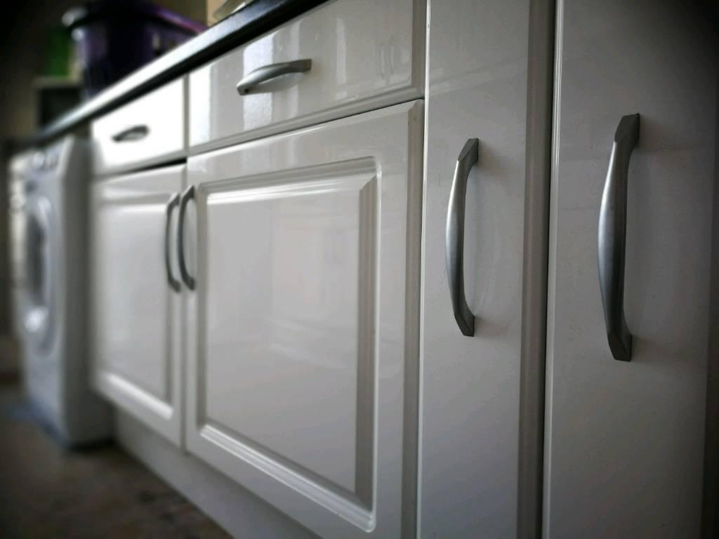 B&Q kitchen cupboard doors plus handles