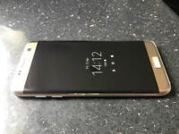Samsung galaxy S7 Edge 32gb Unlocked Gold immaculate condition