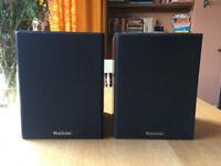 Pair of Wharfedale Diamond III 3 Vintage Bookshelf Speakers
