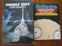 family Guy DVDs (5)  Brand new