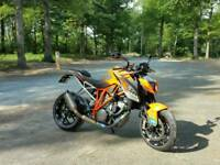 ktm 1290 superduke SOLD £2600 in power parts 192 bhp