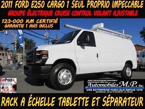 2011 Ford E-250 CARGO GROUPE ÉLECTRIQUE VOIR ÉQUIPEMENT