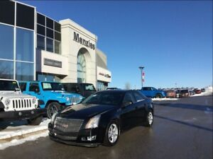 2009 Cadillac CTS AWD, Pano Sunroof, Sirius, Leather, Tint