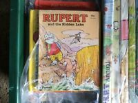 Collection of Rupert Bear Annuals x32 from 1945 SP ED - 2006 -all good condition