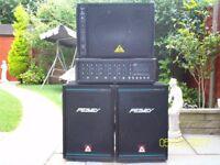 Peavey P.A System