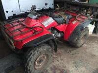 Honda TRX 300 big red Quad Rear Axle and differential Diff
