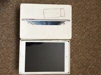 iPad mini 16GB, wifi, silver white, excellent condition.