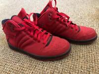 Nike Jordan trainers - red
