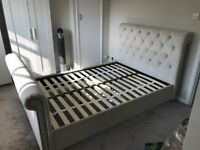 Next Westcott Double bed frame in Stone £250