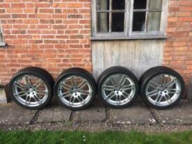 19 inch Alloy Wheels with Vredestein tyres