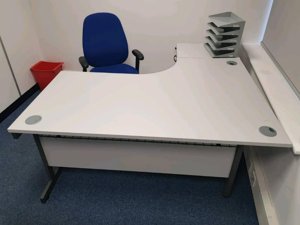 Commercial quality office furniture desks chairs filing cabinets cupboards tambour units