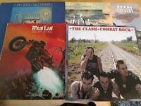 Vinyl albums - Meat Loaf - Big Country - Four Tops - Tina Turner