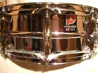 "Premier Model 35 alloy snare drum 14 x 5 1/2"" - '77 - Ludwig 400 homage - Important Premier drum"