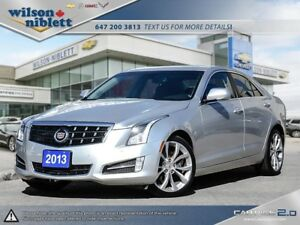 2013 Cadillac ATS 3.6L Performance 1 OWNER, ACCIDENT FREE