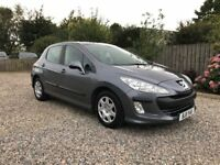 2011 PEUGEOT 308 1.6 HDI S ***LOW MILEAGE***£30 ROADTAX***GREAT MPG***