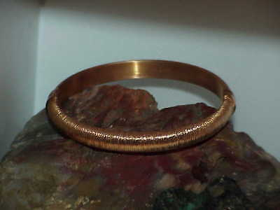 QVC Veronese 18k Rose Gold Vermeil Sterling Solid Bangle Bracelet 23.8G New Bx