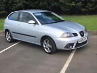 2008 (08) SEAT IBIZA SPORTRIDER 1.9 TDI (1 OWNER FROM NEW)