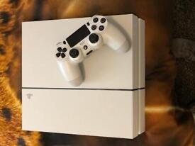 White PS4! Perfect condition