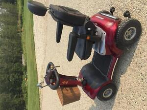 Trailblazer luxury 4 wheeled scooter for sale