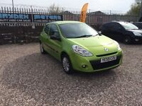 2010 59 RENAULT CLIO 1.2 EXTREME 3 DOOR HATCHBACK WITH 105K,SOLD WITH A NEW MOT CERTIFICATE,