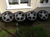 Mercedes Amg alloy wheels 19""
