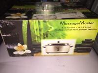 Hot stone Massage Kit. Brand new never been used.