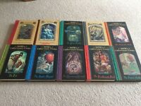 3 sets of children's books. Enid Blyton's and a Series of Unfortunate Events