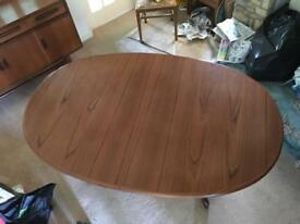 Vintage G Plan extending dining table
