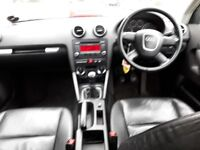 AUDI A3 1.9 TDI 07 SLINE LEATHER SEATS
