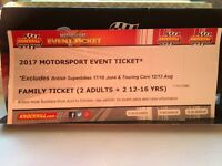 Knockhill family day ticket