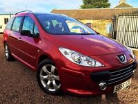PAN ROOF! (2006) PEUGEOT 307 1.6 HDI (90) SW S ESTATE/ PANORAMIC ROOF/FULL SERVICE HISTORY