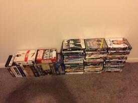 150 DVD's including 16 boxed sets over 150 in total excellent cond