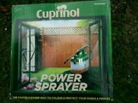 Cuprinol power sprayer