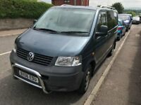 VW T5 Campervan, 2006, 132,000 miles, 11 Months MOT, Professionally insulated and converted