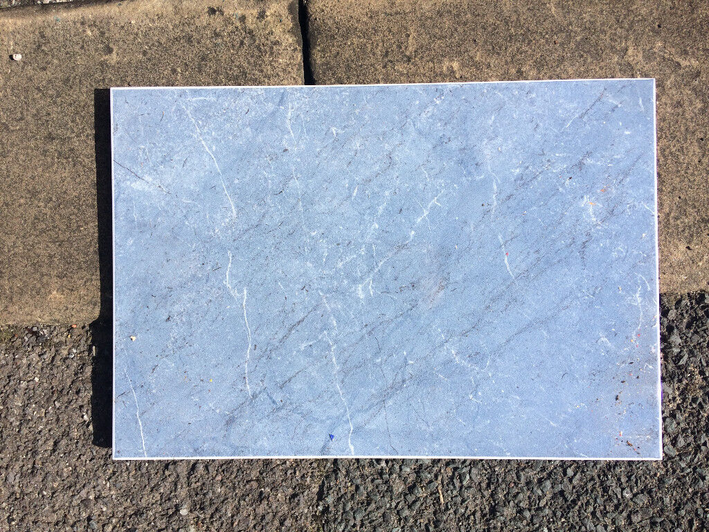Box of mixed ceramic tiles (large amount of grey bathroom tiles ...